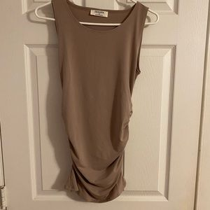Size Ruched Tank. Size S